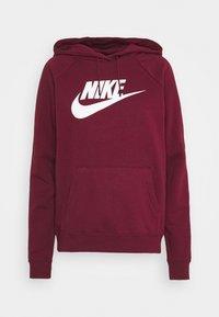Nike Sportswear - HOODIE - Kapuzenpullover - dark beetroot/white - 0