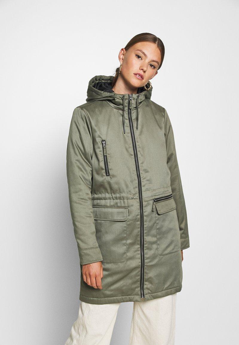 Noisy May - NMMISSI  LONG JACKET - Winter coat - kalamata
