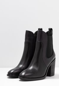 Tommy Hilfiger - COLOR BLOCK CHELSEA - High heeled ankle boots - blue - 4