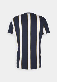 Hollister Co. - CREW STRIPES - T-shirt print - navy vertical - 1