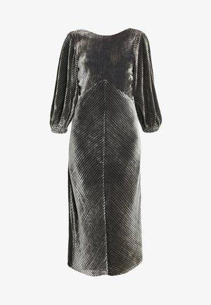 Koktejlové šaty/ šaty na párty - silver/black