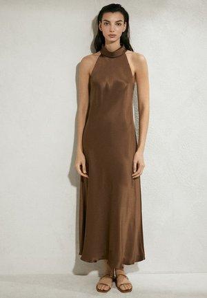 Robe longue - brown