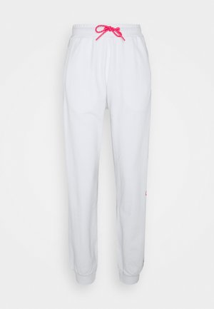 IVY JOGGERS - Tracksuit bottoms - white