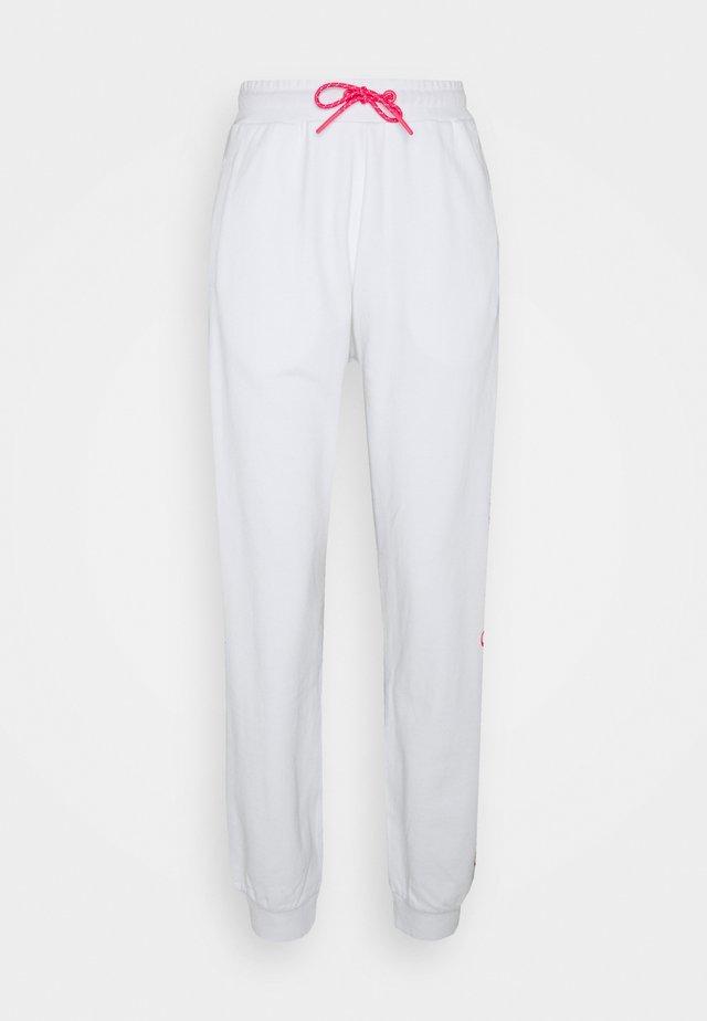 IVY JOGGERS - Pantalon de survêtement - white