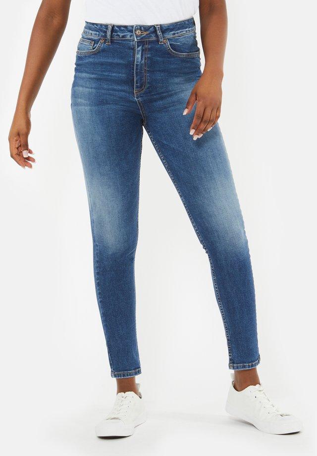 MID RISE - Jeans Skinny Fit - midbluedenim