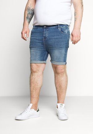 Denim shorts - light blue wash