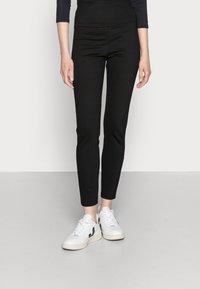 edc by Esprit - HIGH WAIST PUNTO  - Leggings - Trousers - black - 0