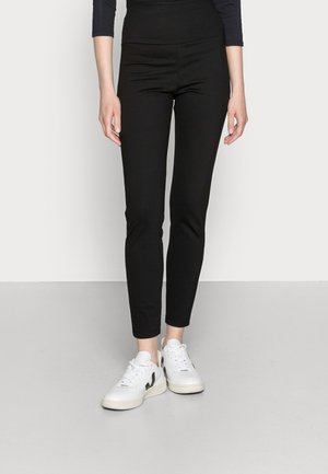 HIGH WAIST PUNTO  - Leggings - Trousers - black