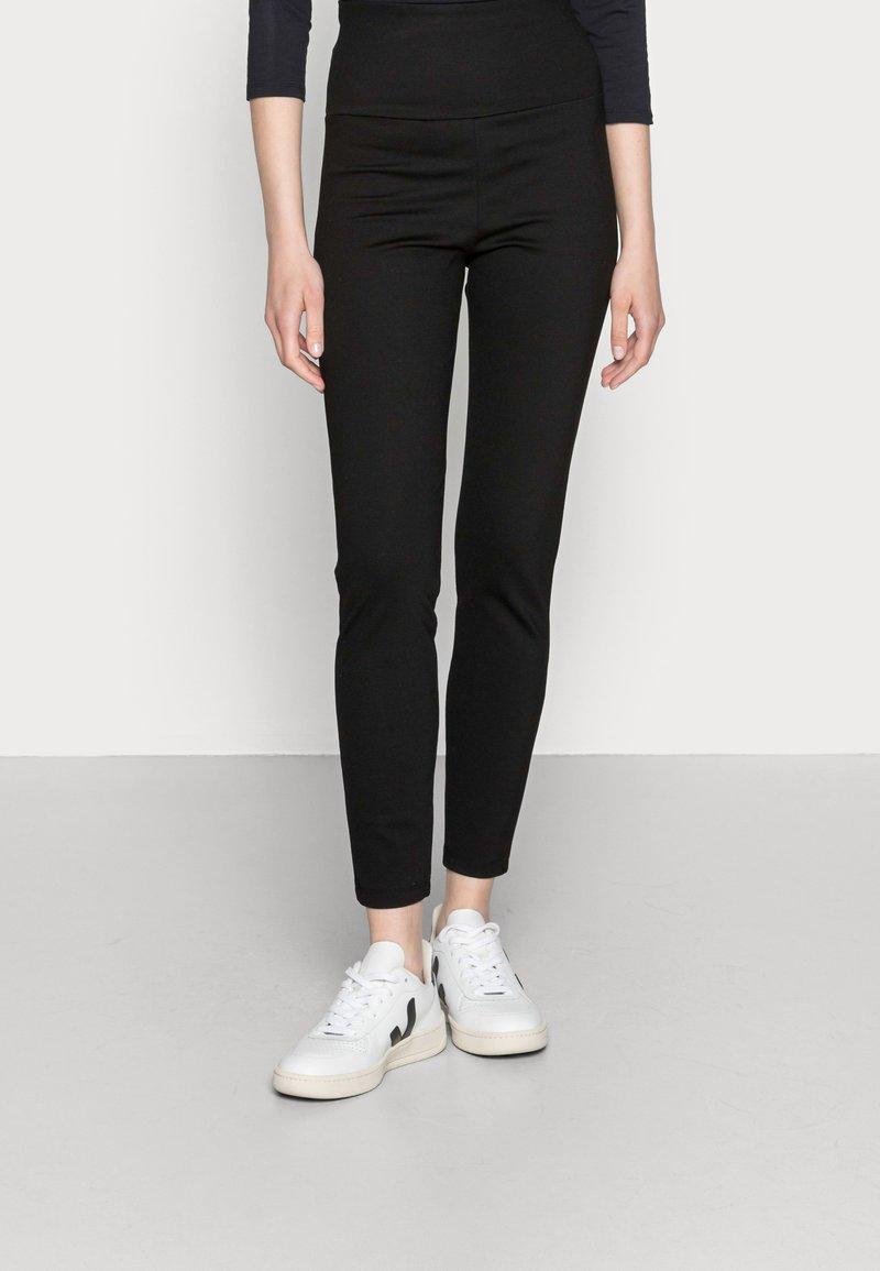 edc by Esprit - HIGH WAIST PUNTO  - Leggings - Trousers - black