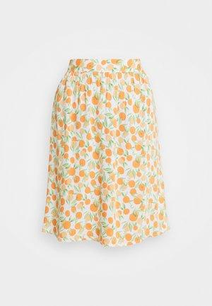 PCNYA SKIRT - Mini skirt - buttercream