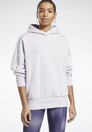 OVERSIZED WORKOUT HOODIE - Hoodie - purple