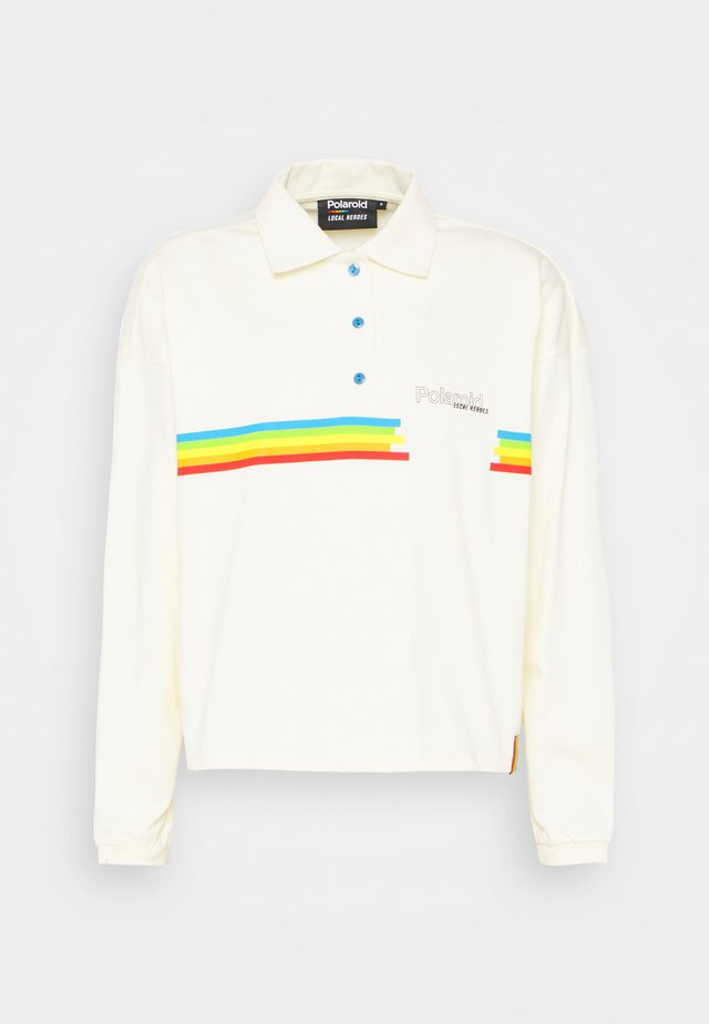 POLAROID - Polo shirt - cream