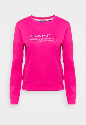 SUMMER C NECK - Sweatshirt - cabaret pink