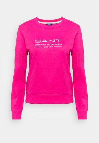 SUMMER C NECK - Sweatshirt - cabaret pink