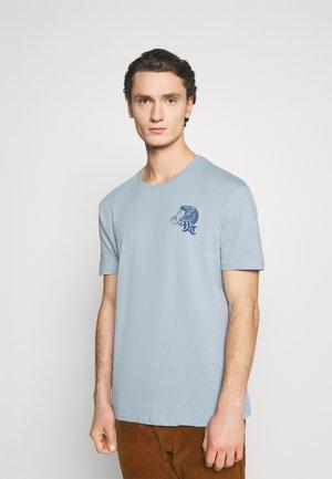 UNISEX - Print T-shirt - blue