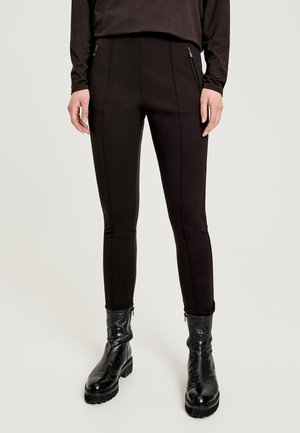 Leggings - Trousers - truffle