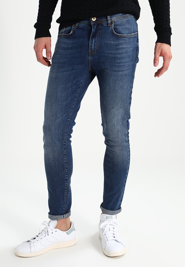 Jeansy Slim Fit - mid blue denim