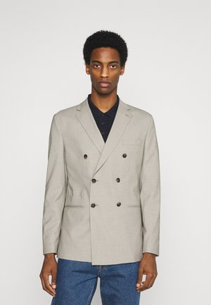 SLHSLIM MAZELOGAN - Blazer jacket - sand