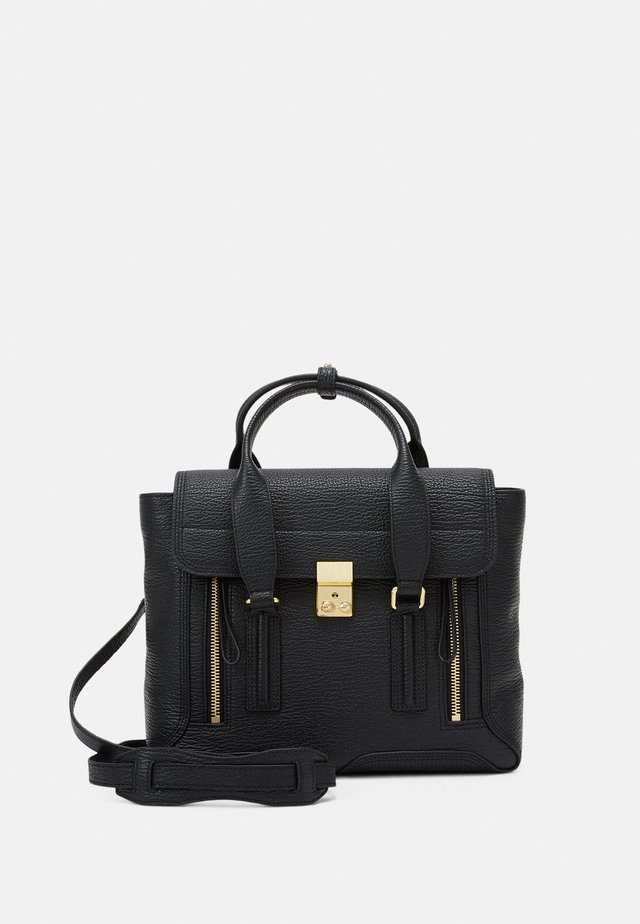 PASHLI MEDIUM SATCHEL - Käsilaukku - black