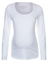 Esprit Maternity - Longsleeve - white - 1