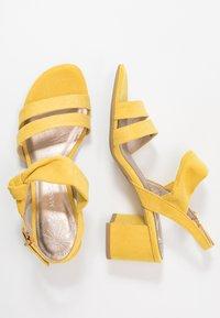 Marco Tozzi - Sandalias - yellow - 3