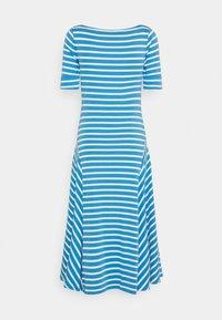 Lauren Ralph Lauren - Jersey dress - captain blue/white - 7