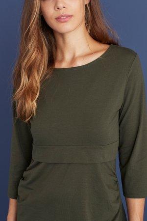 BLEND NURSING - Langærmede T-shirts - green