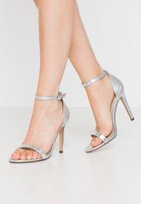 4th & Reckless - JASMINE - High heeled sandals - silver - 0