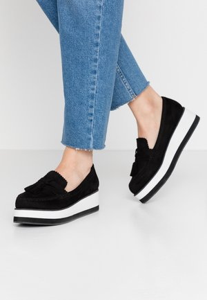 GABS - Loaferit/pistokkaat - black