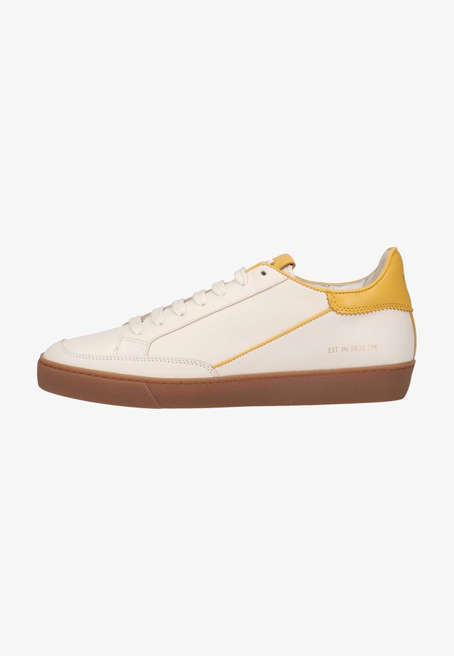 Sneakers laag - creme sunflower