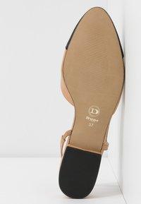 Dune London - CORALLINA - Slingback ballet pumps - camel - 6