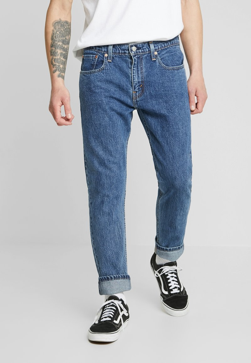 Levi's® Extra - 502™ TAPER HI BALL - Jeans Tapered Fit - blue comet base