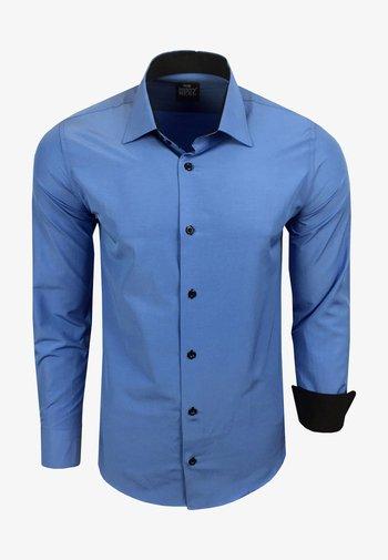 FREIZEIT-HEMD - Shirt - blau