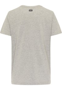 Petrol Industries - Print T-shirt - light grey melee - 1