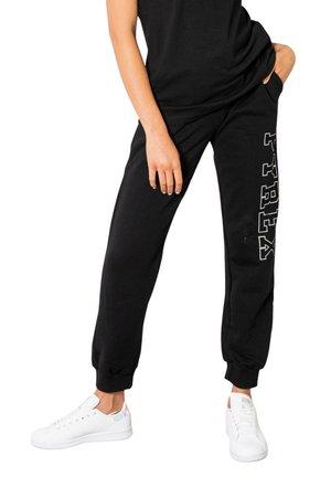 LOGO GAMBA LATO - Pantaloni sportivi - black
