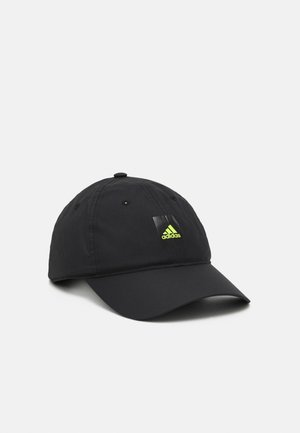 LIGHTWEIGHT UNISEX - Gorra - black/solar yellow