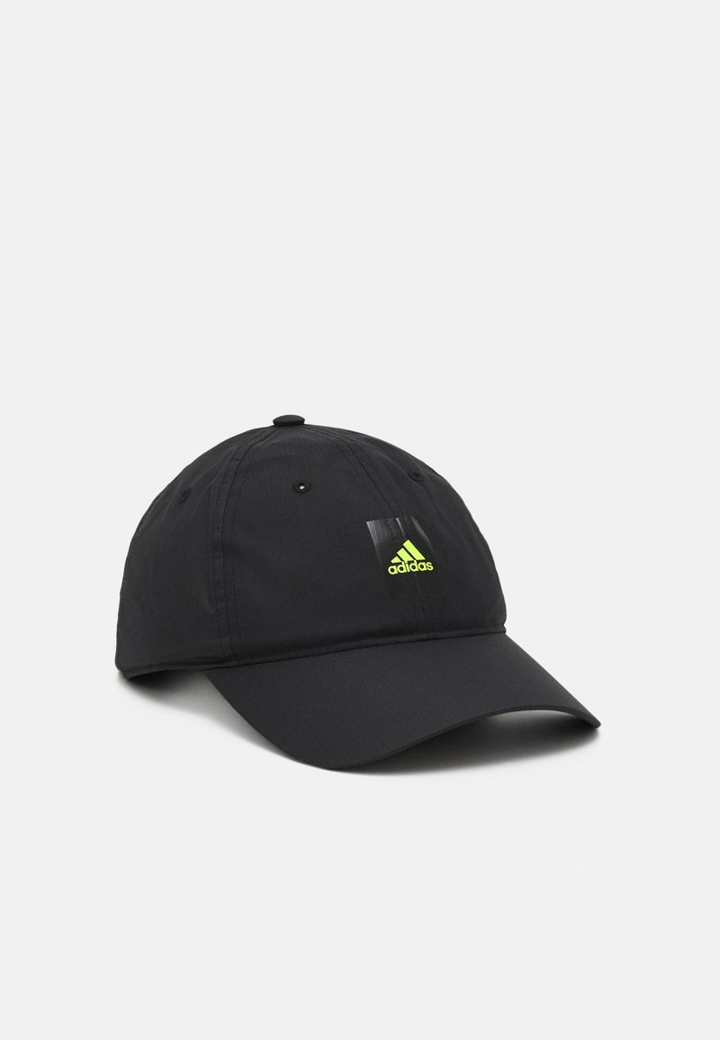 adidas Performance - LIGHTWEIGHT UNISEX - Gorra - black/solar yellow