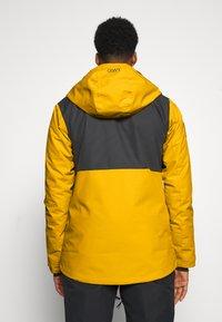COLOURWEAR - BLOCK JACKET - Snowboard jacket - yellow - 2