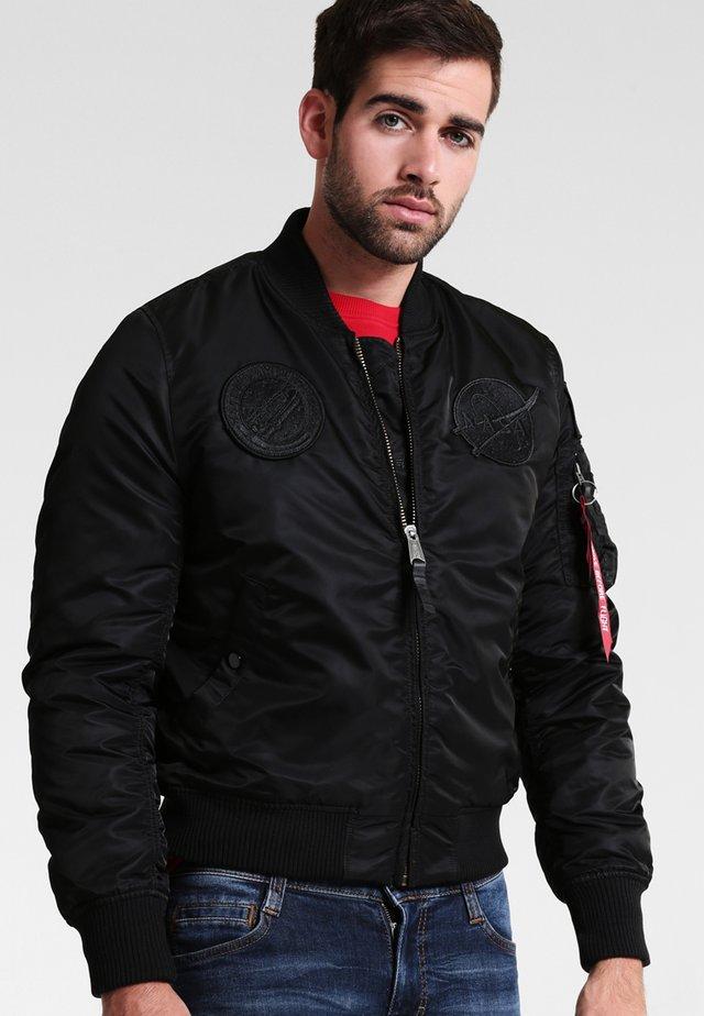 NASA - Bomber Jacket - all black