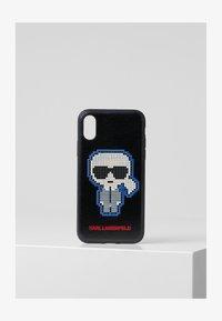 KARL LAGERFELD - PIXEL KARL XS - Phone case - black - 0