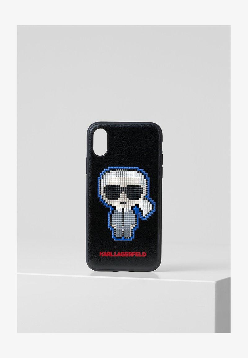 KARL LAGERFELD - PIXEL KARL XS - Phone case - black