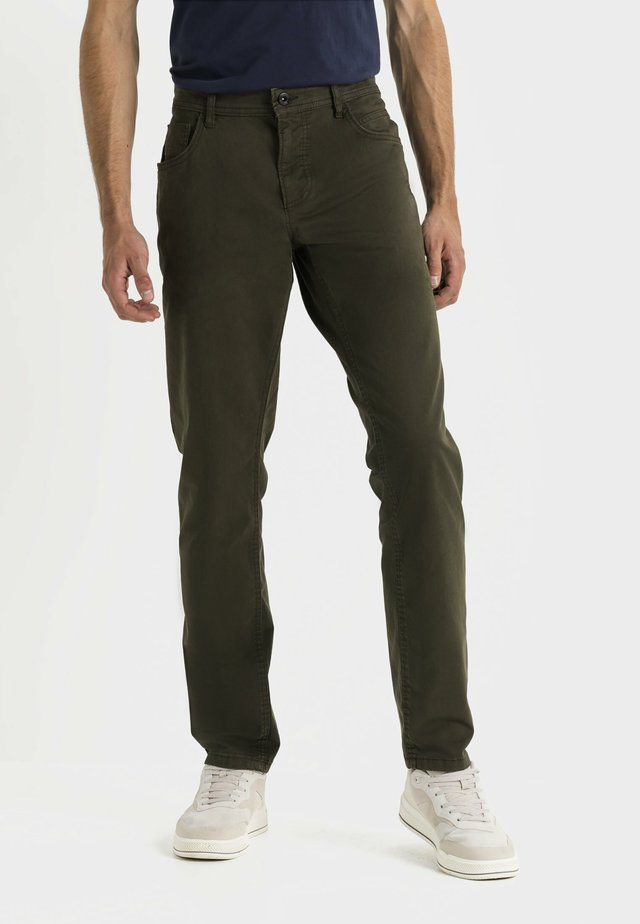 Straight leg jeans - mud