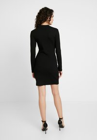 Even&Odd - BASIC - Vestito di maglina - black - 3