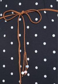 Ragwear - TAG DOTS - Jersey dress - navy - 4
