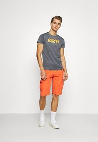 Schott - Cargo trousers - orange - 1