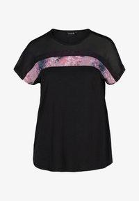 Active by Zizzi - PRINTDETAILS - T-shirt print - black - 3