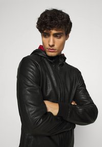 Gipsy - GRAYDON - Leather jacket - black - 4