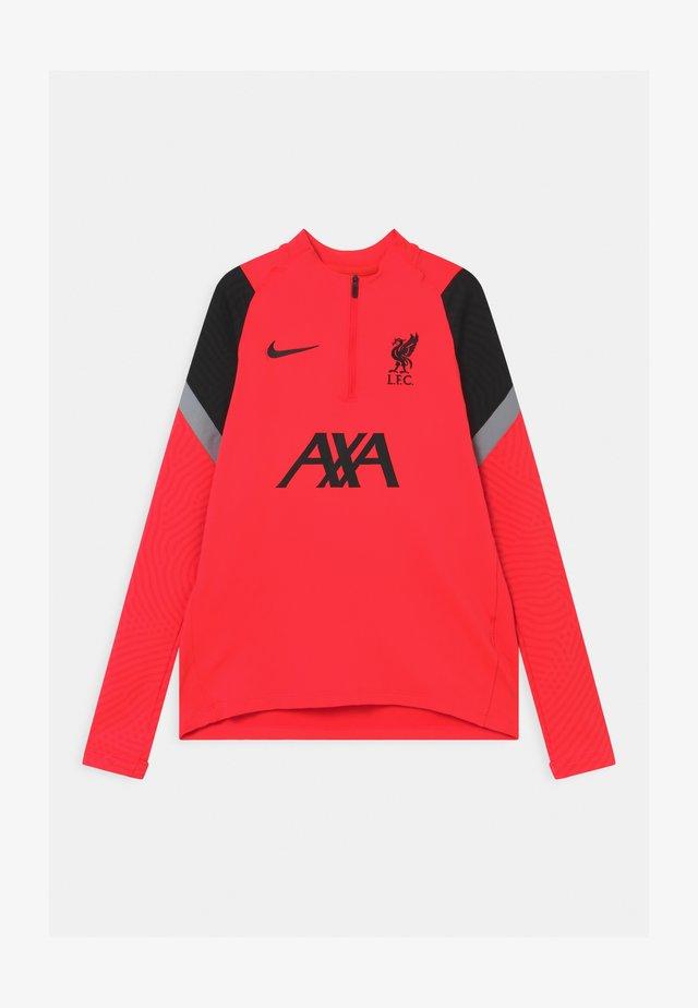 LIVERPOOL FC DRY - Club wear - laser crimson/black/wolf grey
