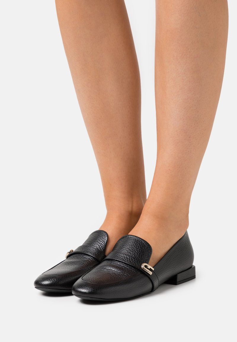 Furla - LOAFER  - Nazouvací boty - nero