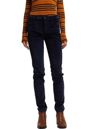 FASHION  - Trousers - navy